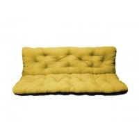 Матрас для качелей 170 см желтый