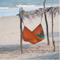 Гамак La Siesta Colibri Orange одноместный