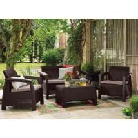Комплект мебели Bahamas коричневый