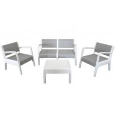Набор мебели Miami серый