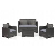 Набор мебели Alabama 2 антрацит