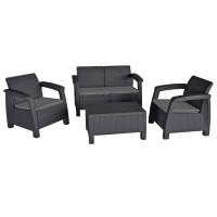 Комплект мебели Bahamas серый
