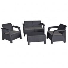 Комплект мебели Bahamas антрацит