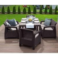 Комплект мебели Bahamas Fiesta коричневый