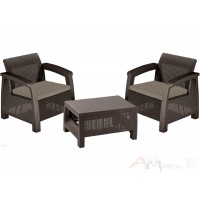 Комплект мебели Bahamas Weekend коричневый