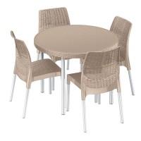 Комплект мебели Jersey set бежевый