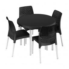Комплект мебели Jersey set антрацит