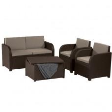 Комплект мебели Modena Set коричневый