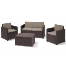 Набор мебели Monaco Set коричневый