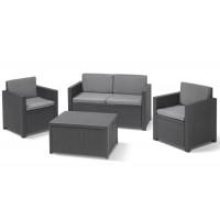 Набор мебели Monaco Set серый