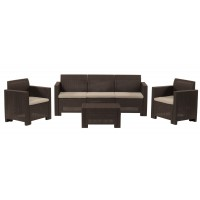 Набор мебели Nebraska 3 коричневый