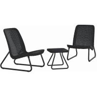 Набор мебели Rio Patio Set серый