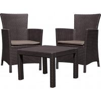 Набор мебели Rosario Balcony Set коричневый