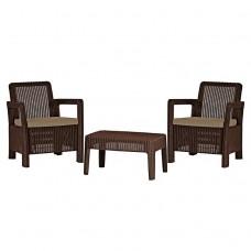 Комплект мебели Tarifa Balcony Set коричневый
