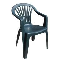 Кресло пластиковое Altea зелёное