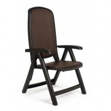 Кресло пластиковое Delta шоколадное