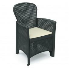 Кресло Folia антрацит
