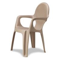 Кресло Intrecciata бежевый
