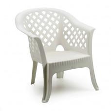 Кресло Lario белое