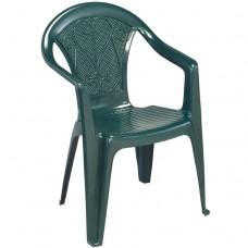 Кресло пластиковое OLE зелёное