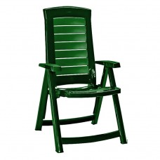 Кресло пластиковое  Aruba зелёное