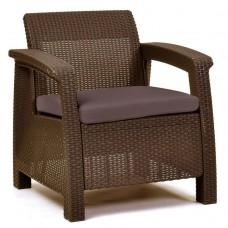 Кресло Corfu коричневое