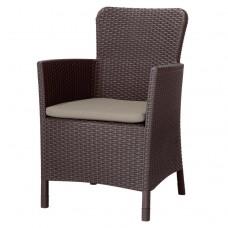 Кресло Miami DC коричневое