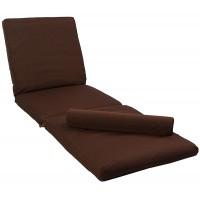Матрас для шезлонга Confort коричневый 2230
