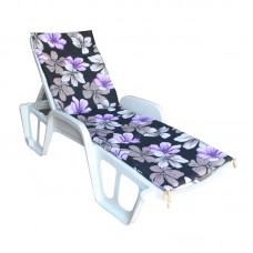 Матрас для шезлонга Sun фиолетовый