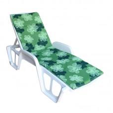 Матрас для шезлонга Sun зеленый