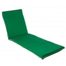 Матрац для шезлонга Uni зелений 2314