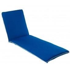 Матрац для шезлонга Uni синій 2821
