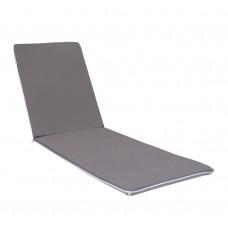 Матрац для шезлонга eGarden Cansas сіро-бежевий 190x56x3 см