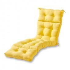 Матрас для шезлонга eGarden COMFY желтый
