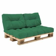 Комплект подушек Paletta для паллет-дивана зеленый