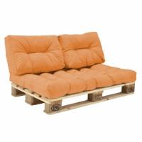 Комплект подушек Paletta для паллет-дивана оранжевый