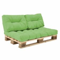 Комплект подушек Paletta для паллет-дивана салат