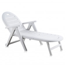 Лежак Caiman белый