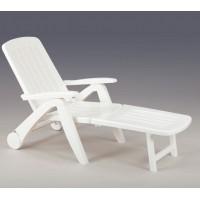 Лежак Cancun белый