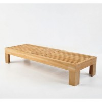 Шезлонг деревянный COMFORT с матрасом