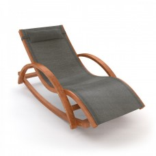Шезлонг-качалка деревянный WAVE