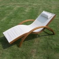 Шезлонг деревянный WAVE