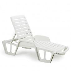 Лежак Fisso белый