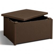 Стіл-скриня Arica коричневий