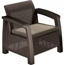 Кресло Bahamas Duo коричневое