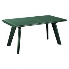 Стол пластиковый Dante зелёный