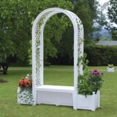 Садовая арка с лавочкой HW-08