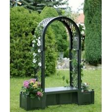 Садовая арка с лавочкой HW-09
