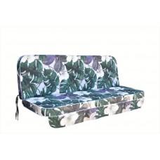 Матрац для гойдалки люкс eGarden  Orchid, довжина сидіння 170
