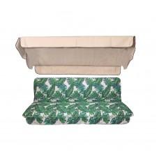 Комплект для качелей eGarden Tropic бежевый тент